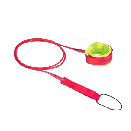 TEC Leash red Surf-Leash ION