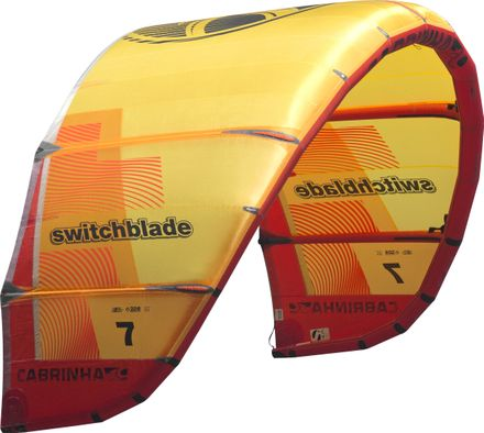 Switchblade C1 yellow/red Kite Cabrinha 2019