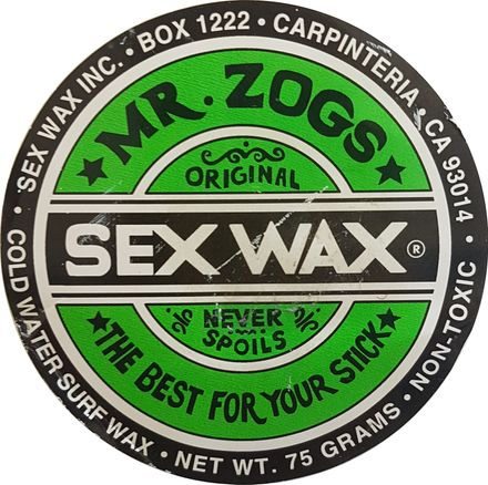 Cold Green Sex Wax