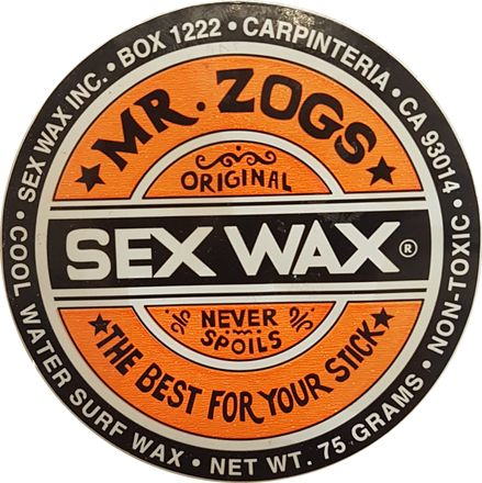 Cool Orange Sex Wax