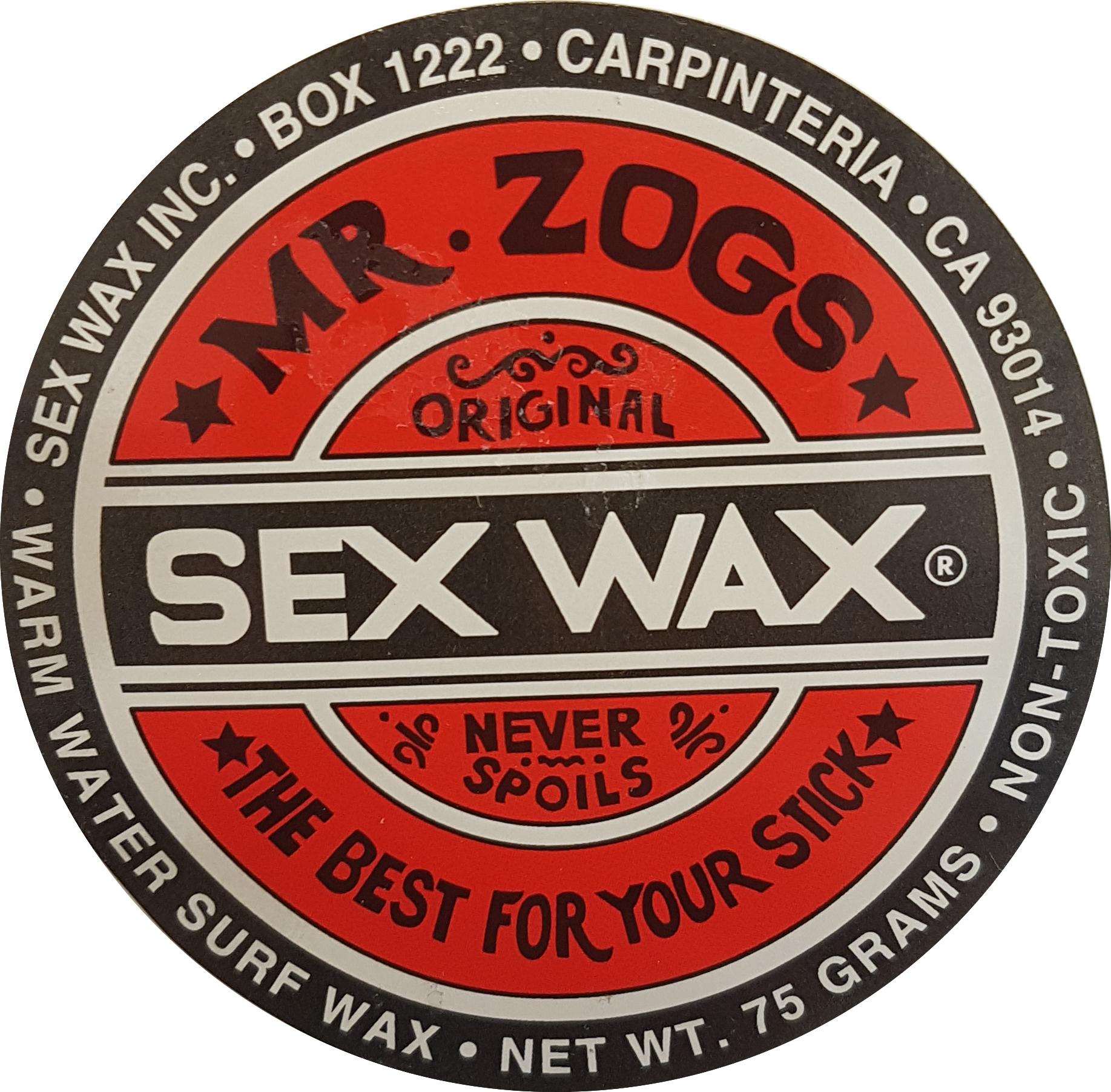 Warm Red Sex Wax