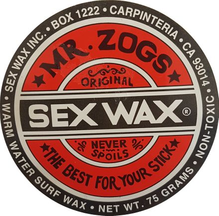 Warm Red Sex Wax