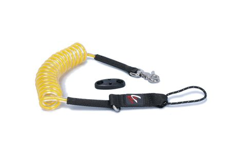 Kite Board Leash Stretch