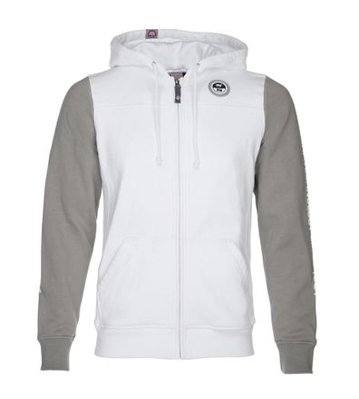 Zip Hoodie white Sweatjacke North Sails