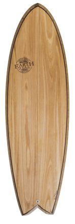 Robert´s Quad Fish 6'0'' Surfboard Earth