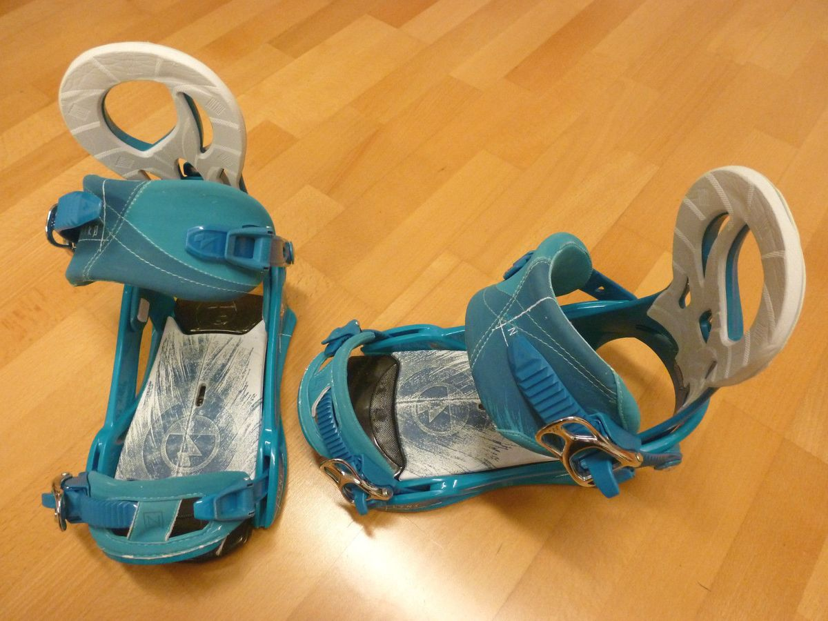 Lynx blue Snowboardbindung Damen Nitro 2014 gebraucht