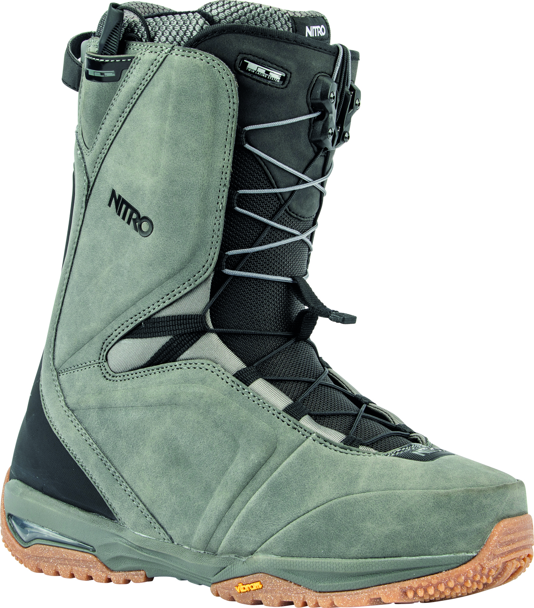 Team TLS Charcoal Snowboardboot Nitro 2020