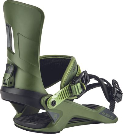 Rambler Olive Snowboardbindung Nitro 2020