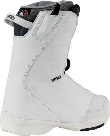 Flora TLS White Snowboardboot Damen Nitro 2020