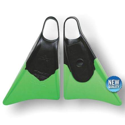 Bodyboard Flosse Makapuu Black Green CHURCHILL