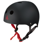 Halo Rubber Black Wakeboard Helm Triple 8  001