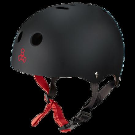 Halo Rubber Black Wakeboard Helm Triple 8