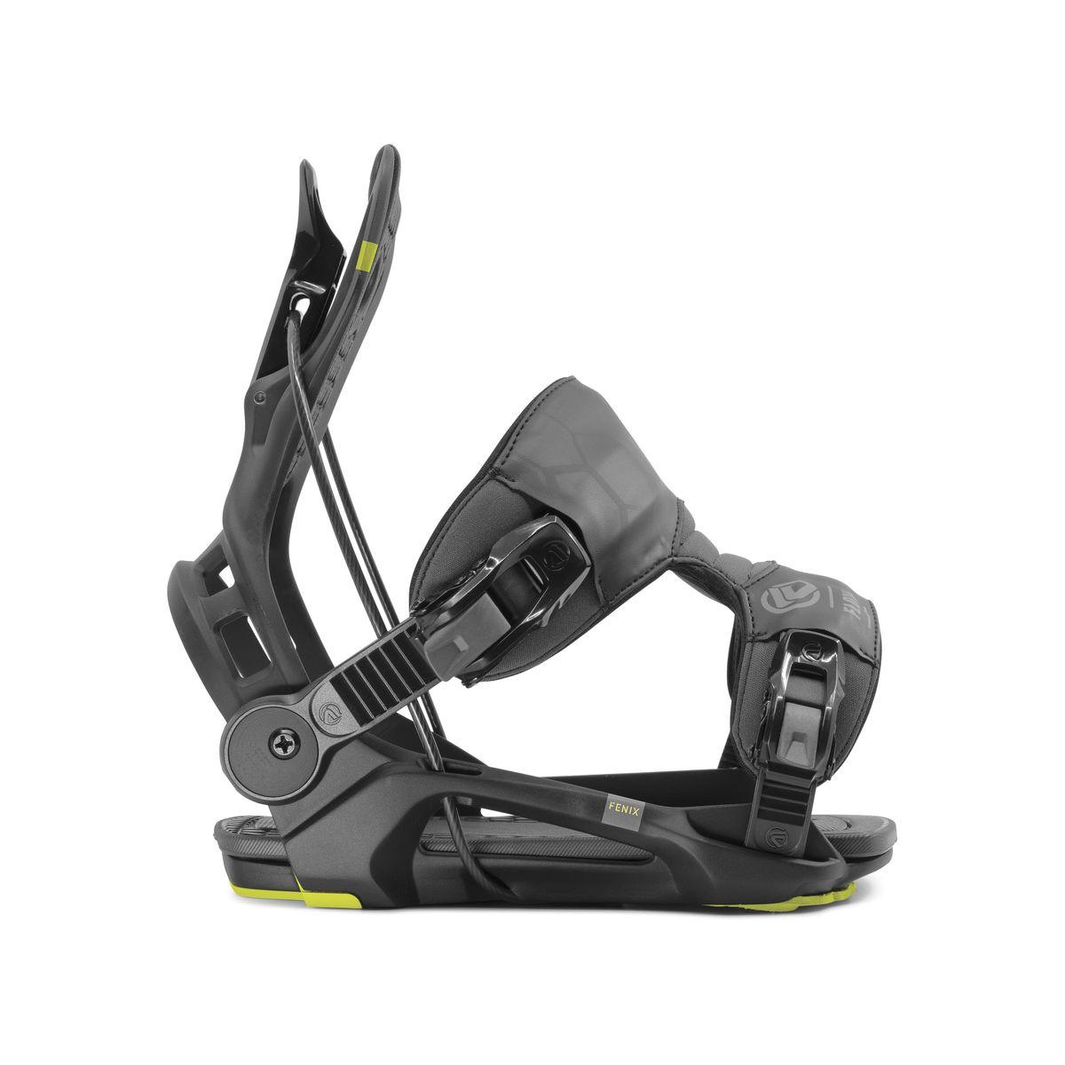 Fenix Black Snowboardbindung Flow 2020