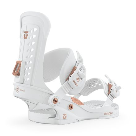 Trilogy White Damen Snowboardbindung Union 2020