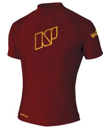 Contender S/S C2 maroon Shirt NP