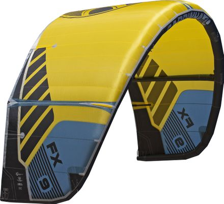 FX C3 yellow/blue-grey Kite Cabrinha 2020