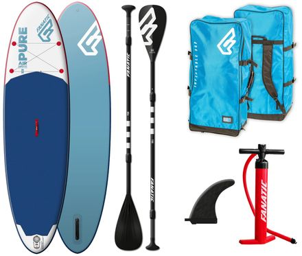 SUP Set Pure Air Fanatic Board und Paddel 2019 Aussteller