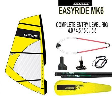Easyride V2 Rig Windsurf Segel komplett Set RRD