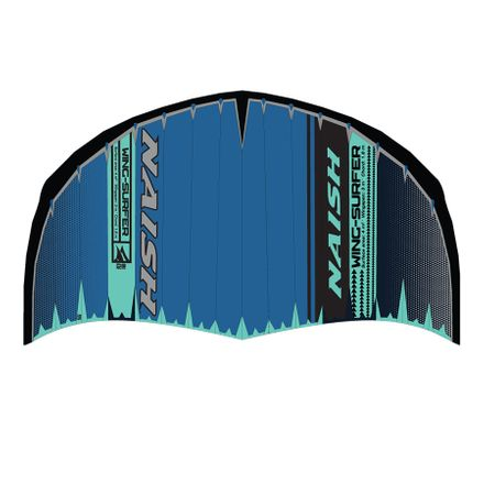 Wing Surfer blue/turquoise/grey Wingfoiling Naish 2020