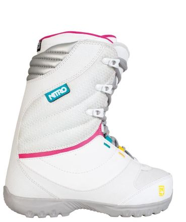 Cuda white Snowboardboot Nitro