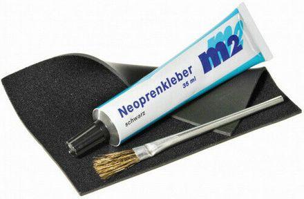 Neopren Reparatur Set mit Pinsel M2