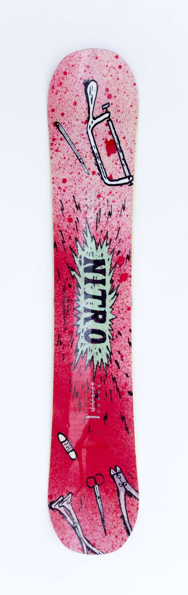 Eero Ettala Pro Model 155 cm Snowboard Nitro 2016 gebraucht