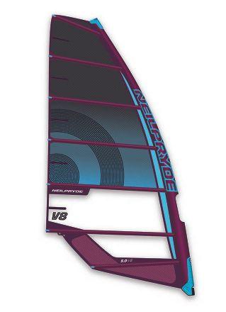 V8 C1 Black Blue Windsurf Segel Neilpryde 2020