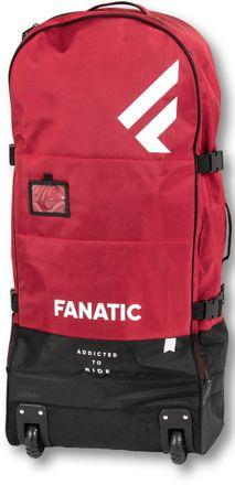 Premium dark red Tasche mit Rollen aufblasbar SUP Fanatic 2020
