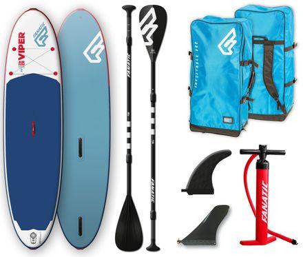 SUP Set Viper Air Windsurf Pure Board und Paddel aufblasbar Fanatic 2019