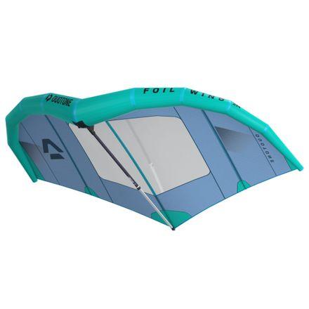 Set Foil Wing blue mint + Gabel + Leash Duotone 2020