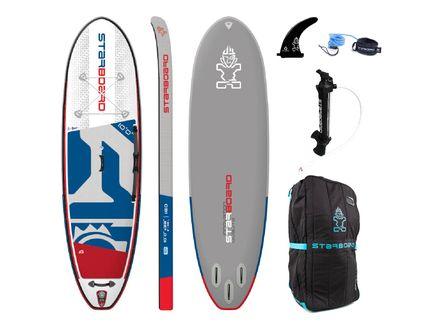 iGO Deluxe SC SUP Board aufblasbar Starboard 2020