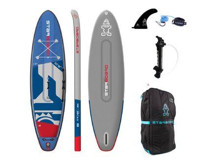 iGO Deluxe DC SUP Board aufblasbar Starboard 2020