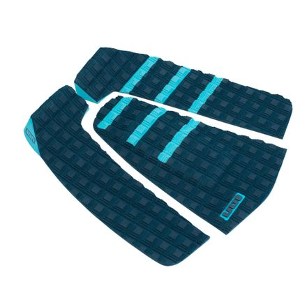 Surfboard Pads Stripe 3pcs petrol Footpad ION