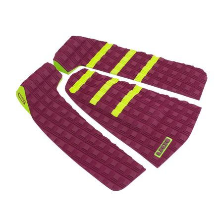 Surfboard Pads Stripe 3pcs red Footpad ION