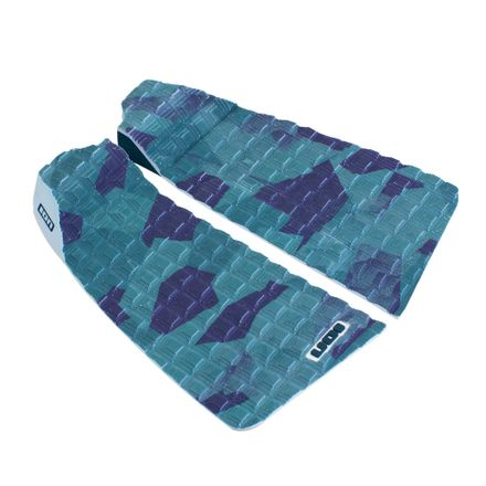 Surfboard Pads Camouflage 2pcs petrol/camo Footpad ION