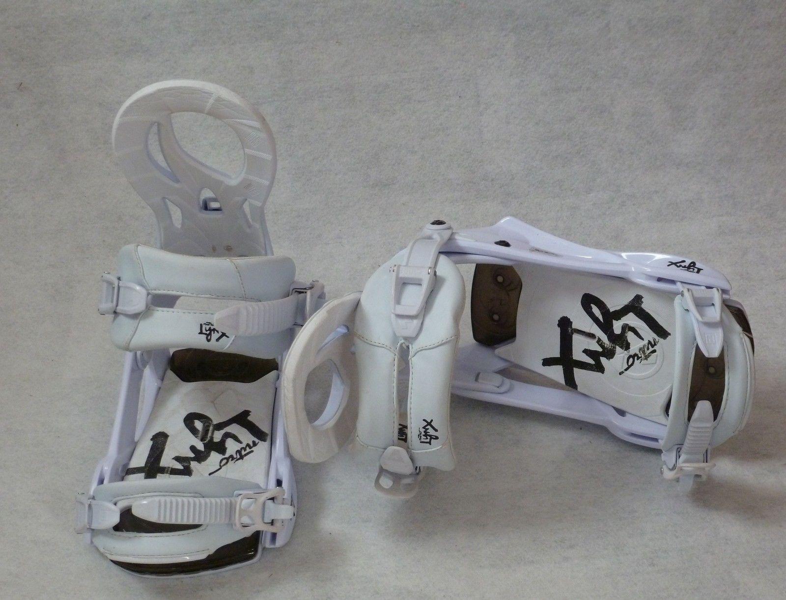 Lynix white Snowboardbindung Nitro 2015 gebraucht