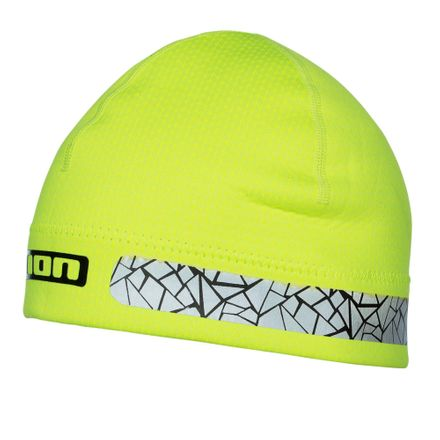 Safety Beanie lime Neopren Mütze ION 2020