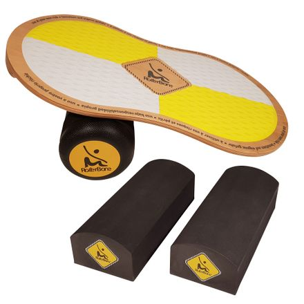 RollerBone EVA Pro Set + Bricks Balance Trainer