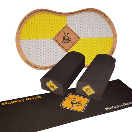 RollerBone EVA Bricks Set + Carpet Balance Trainer