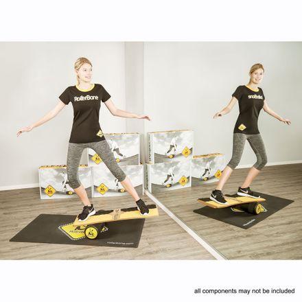RollerBone Fitbone Pro Set + Carpet Balance Trainer