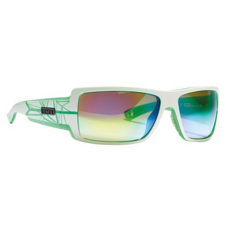 Icon Set_Zeiss white/trans green Sportbrille ION