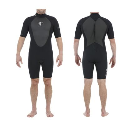 Flight S/S 2mm Springsuit Black Neoprenanzug Jetpilot 2020