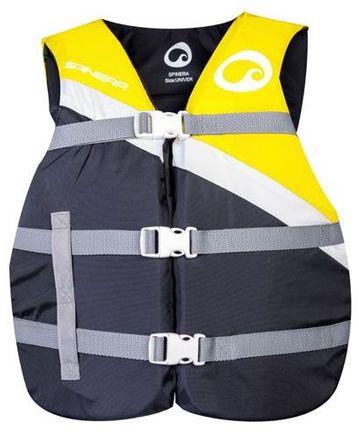 Universal Nylon Vest Black/Yellow - 50N Auftriebsweste Spinera