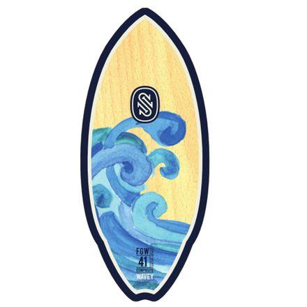 Fiberwood Wavey Blue SkimOne