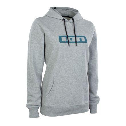 Hoody Logo WMS grey melange Pullover ION 2020