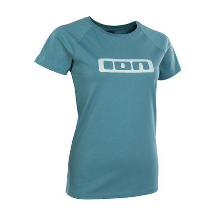 Tee SS Logo WMS laguna green T-Shirt ION 2020