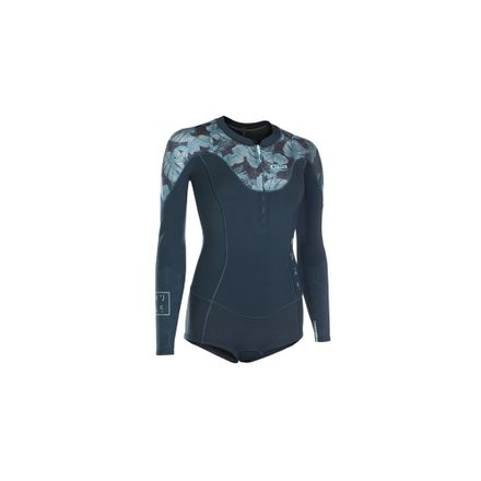 Muse Hot Shorty LS 1.5 FZ DL dark Blue Damen Neopren ION 2019