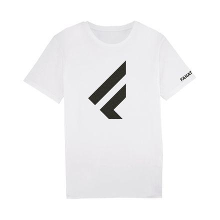 """T-Shirt """"F"""" white T-Shirt Fanatic 2020"""