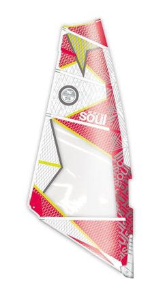 Soul Wave ferrari red CC1 Windsurf Segel North Sail 2014