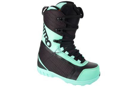 Fader black mint teal Snowboardboot Nitro